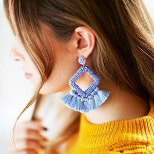 Jewelry - 💙Bohemian Tassel Earrings💙 Elegant